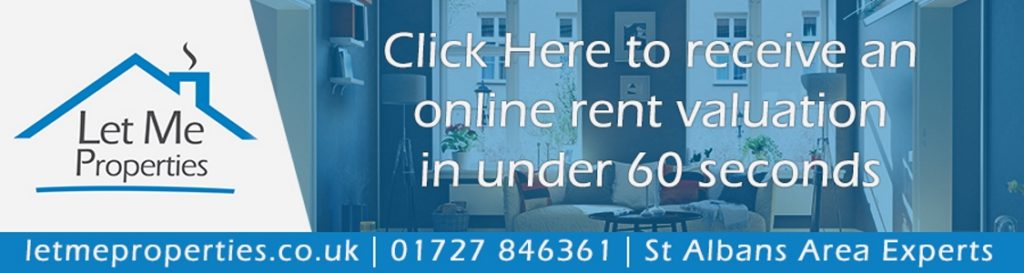 Online rent valuation - Let Me Properties letting agents in St Albans - letmeproperties.co.uk