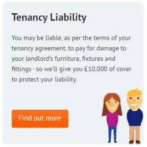 Recommended by Let Me Properties Letting Agents in St Albans - HomeLet Tenants' Liability Insurance